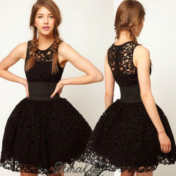 Prom Dresses 2015 Evening Dress Lace Cocktail Dress Party Dress Custom Dress S103